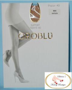 Oroblu Plaisir 40 Pantyhose Maxi Color Suntouch  US Seller Brand New