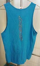 14092d32e76e98 Speedo Men s Sleeveless Tank Top Muscle Workout Shirt Size Medium Vintage  Blue