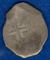 1500 - 1600's Spanish 8 Reales Cob Colonial Treasure Coin 26.73g