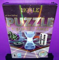 Hoyle Puzzle & Board Games 2011 (Windows/Mac, 2010) PC CD ROM W/Box B592