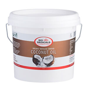 Tasteless Coconut Oil 4 Litres, Certified Organic, No Taste & Odour!