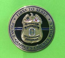 Prince George's County Maryland Police Challenge Coin