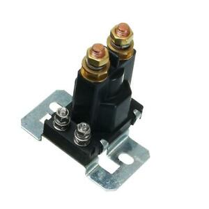 Car Black 4 Pin Over 500A AMP 12V DC Dual Battery Isolator Relay Start On/Off
