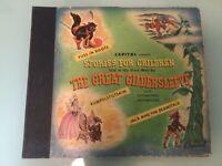 STORIES FOR CHILDREN THE GREAT GILDERSLEEVE ALBUM 4 LP RECORDS PUSS IN BOOTS