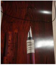 Waterman Serenite Wood BANNER Rare NOS