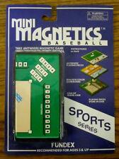 FUNDEX : MINI-MAGNETICS SPORTS - 2 DIFFERENT GAMES   - NEW -      #ZFUN-4200