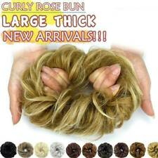 Clearance Messy Bun Hair Piece Scrunchie Real as Human Ponytail Hair Extensions
