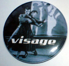 Visage - Steve Strange - Fade to 25mm Pin Badge Visage2