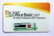 Microsoft Office Basic 2007 MLK OEM Clé de licence sans disque