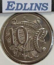 2010 10 cent  unc coin