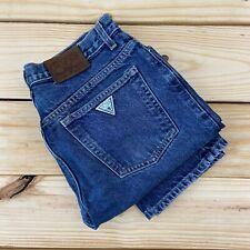 Vintage GUESS JEANS Men's Size 31 x 30 Blue Denim 1990s Straight Leg