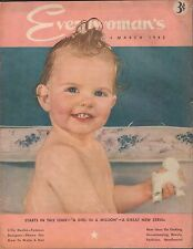 Everywoman's March 1942 Lilly Dache, How to Make a Hat VG 100516DBE