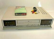 American Dynamics Ad8016 Vcr Recorder Time Lapse Cctv Security White Black