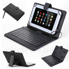 "Black Leather Case Cover Keyboard USB For Nextbook Ares 10A 10.1"" (NX16A10132S)"