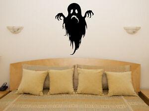Ghost Spooky Scarey Boo Halloween Bedroom Decal Wall Art Sticker Picture