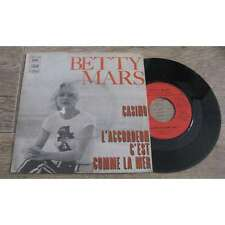 BETTY MARS - Casino Rare French PS 7' Pop 1972