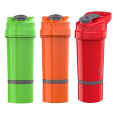 Cyclone Cup Gym Protein Powder Shaker Mixer Bottle 500ml with Storage Capsule