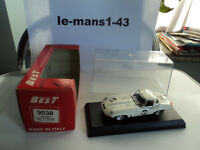 Best Model 1/43 Jaguar Type E Spider #109 Brands Hatch 1965 9038