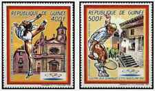 Timbres Sports JO Tennis Gymnastique Guinée PA225/6 ** lot 22692
