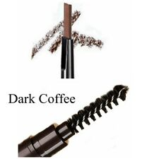 5colors Eyebrow Pencil Eye Brow Eyeliner Pen With Brush Makeup Cosmetic Tool Dark Coffee