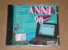 ANNI 90 (LITFIBA, ROBY FACCHINETTI, ENRICO RUGGERI) - CD SIGILLATO (SEALED)