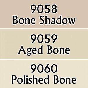 Reaper Miniatures Bone Colors #09720 Master Series Triads 3 Pack .5oz Paint