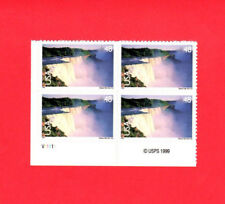 SCOTT # C 133 Niagra Falls Issue United States Stamps MNH - Plate Block of 4