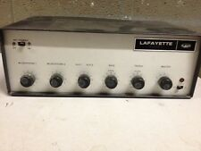 Lafayette Tube Amp PA 675A Needs New Tubes (c31)