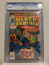 Black Panther #1 CGC 9.8, WHITE PAGES 1977