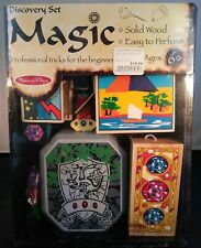 Melissa & Doug ~ Discovery Magic Set ~ Brand New In Box Sealed ~ Solid Wood ~