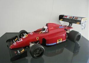Rar ! vintage SG GRAUPNER RC F1 Formel 1 Rennwagen FERRARI 643  1:8 von 1991