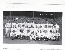 """~Post Card~""""The 1927 World Series Champions""""  ..NY Yankees/1st 25 Years (#68)"""