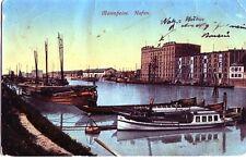 Ansichtskarte Mannheim Hafen (vor 1945)
