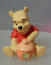 """POOH AND FRIENDS  """"AUGUST POOH HONEY POT FIGURINE"""" 1216309 MINT IN BOX"""