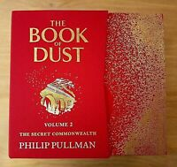 SIGNED 1ST LIMITED EDITION THE BOOK OF DUST - SECRET COMMONWEALTH PHILIP PULLMAN