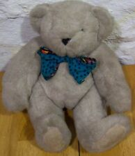 The Vermont Teddy Bear W/ Bow Tie Plush Stuffed Animal