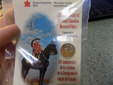 125TH ANNIVERSARY OF THE ROYAL CANADIAN MOUNTED POLICE STERLING SILVER PIN .925