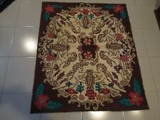 SUPERBE HAND MADE HOOKE CARPET   37'' X 44'' APPROX.