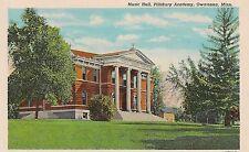 Music Hall at Pillsbury Academy Owatonna MN Postcard