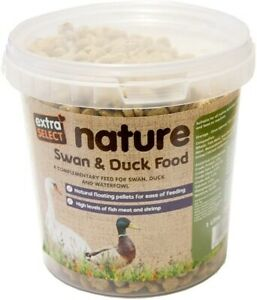 Extra Select Premium Floating Swan and Duck Feed 1 Litre UK FREE DELIVERY