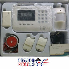KIT ALLARME ANTIFURTO CASA CENTRALINA WIRELESS DIGITALE DISPLAY PHONE PIR