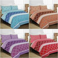 ROBYN Bedding Set With Duvet Cover Pillow Cases Quilt Cover Set Double King Size