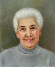 Original Custom Portrait Oil Painting from your Photo, Picture to oil Painting