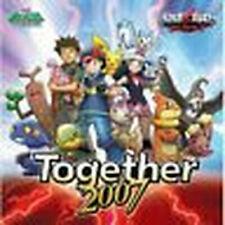 Pokemon anime manga Music Soundtrack Japanese Cd 8 Together2007