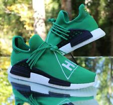 Adidas Pharrell NMD Human Race Green HU Men's Size 11 Black White BB0620