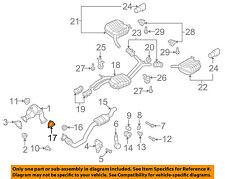 AUDI OEM 10-17 S5 3.0L-V6 Exhaust-Muffler & Pipe Gasket 8K0253115K