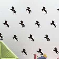 Novelty Unicorn Pattern Wall Stickers Vinyl Decals Home Decor Removable Unicorn