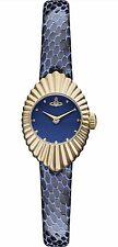 Vivienne Westwood 'concertina' Navy Dial Time Machine Watch Vv096nvnv
