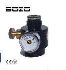 Pcp Cylinder Adjustable Compressed Air Regulator Output Pressure 0-300 psi