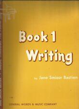 Jane Smisor Bastien Music Through The Piano Book 1 Writing Paperback 1965